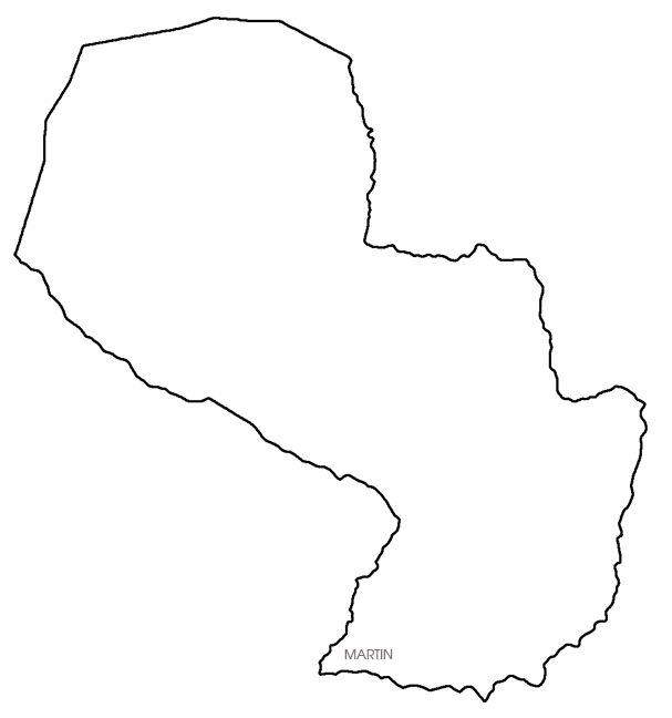 Paraguay Map